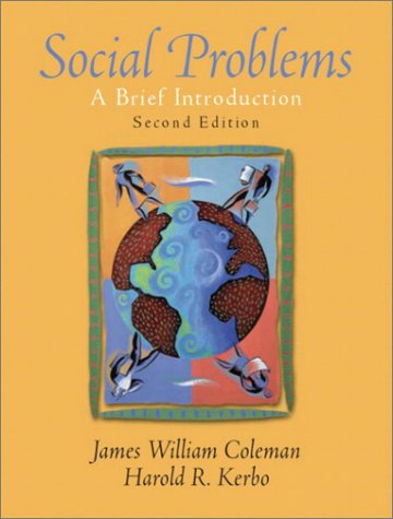 Social Problems A Brief Introduction 2nd 2003 (Revised) edition cover