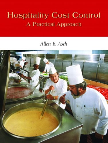 Hospitality Cost Control A Practical Approach  2006 edition cover