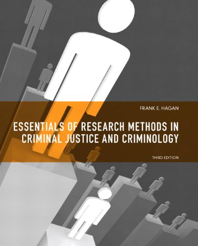 Essentials of Research Methods for Criminal Justice  3rd 2012 (Revised) 9780135121009 Front Cover