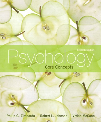 Psychology Core Concepts 7th 2012 edition cover