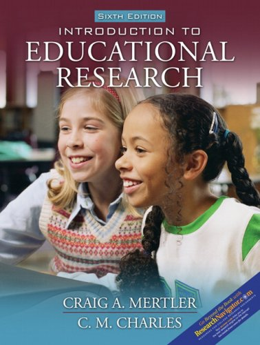 Introduction to Educational Research  6th 2008 (Revised) edition cover