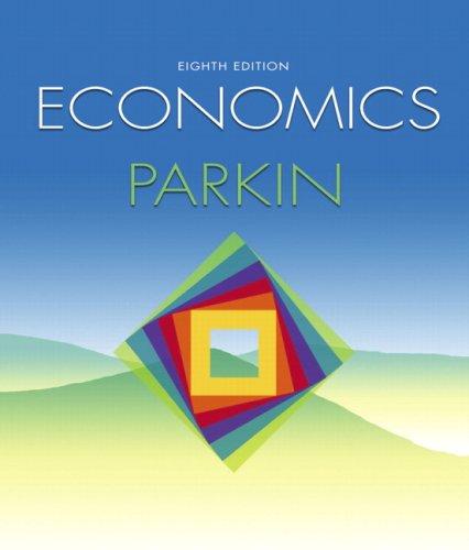 Microeconomics  8th 2008 edition cover