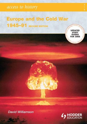 Europe and the Cold War, 1945-91  2nd 2006 (Revised) edition cover