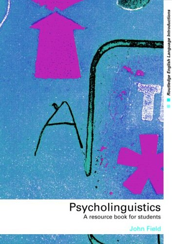 Psycholinguistics A Resource Book for Students  2003 edition cover