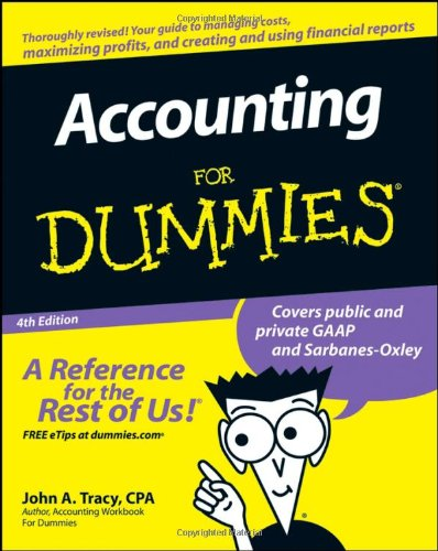 Accounting for Dummies  4th 2008 edition cover