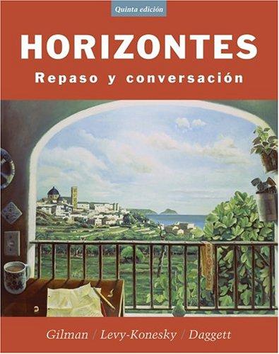 Horizontes Repaso y Conversaci�n 5th 2005 (Revised) edition cover