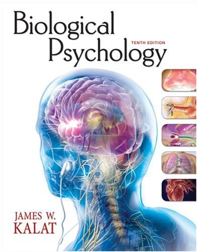Biological Psychology  10th 2009 edition cover