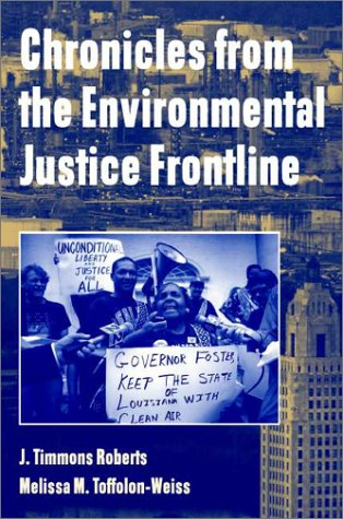Chronicles from the Environmental Justice Frontline   2001 edition cover
