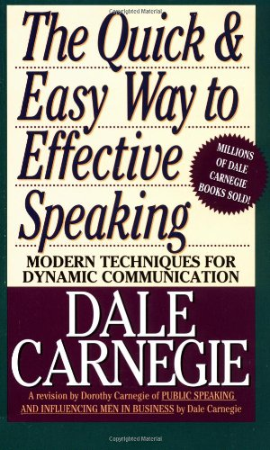 Quick and Easy Way to Effective Speaking   1962 9780671724009 Front Cover
