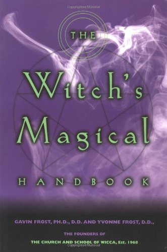 Witch's Magical Handbook   2000 9780735202009 Front Cover