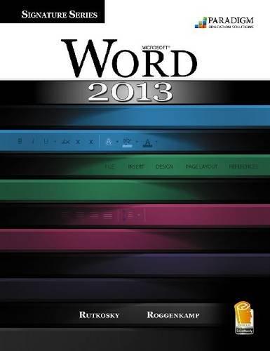 MICROSOFT WORD 2013,WIND..-W/C N/A edition cover