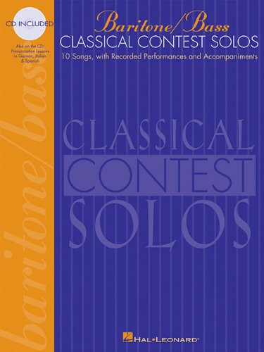 Classical Contest Solos  N/A 9780793578009 Front Cover