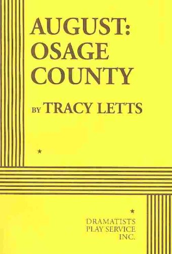 August Osage County  2009 9780822223009 Front Cover