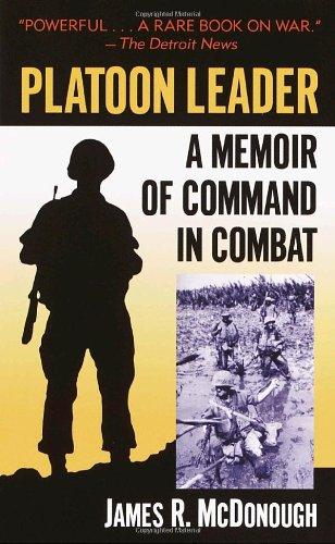 Platoon Leader A Memoir of Command in Combat  2003 edition cover