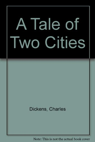 Tale of Two Cities  Large Type  9780939495009 Front Cover