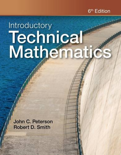 Introductory Technical Mathematics  6th 2013 edition cover