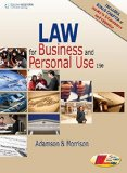 Law for Business and Personal Use:   2016 9781305653009 Front Cover