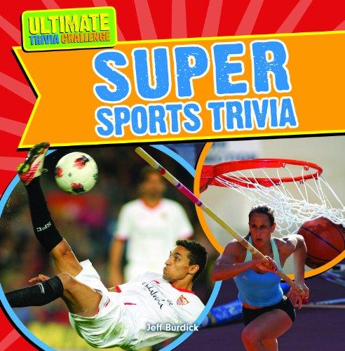 Super Sports Trivia:   2013 edition cover