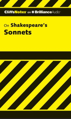 Shakespeare's Sonnets:  2012 edition cover