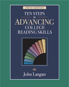 Ten Steps to Advancing College Reading Skills:   2010 edition cover