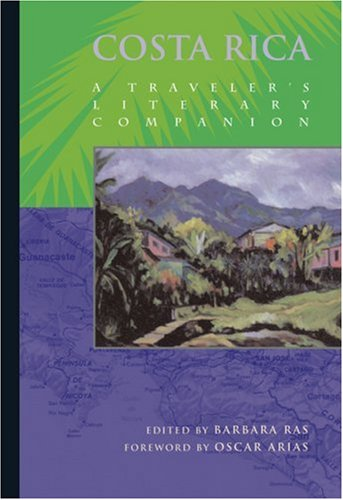 Costa Rica A Traveler's Literary Companion  1994 edition cover