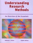 Understanding Research Methods An Overview of the Essentials 8th 2012 (Revised) edition cover