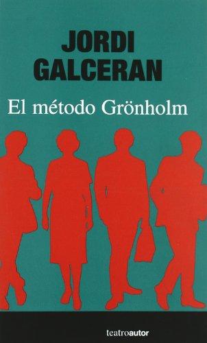 EL METODO GRONHOLM 1st 9788480487009 Front Cover