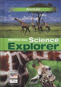 Science Explorer C2009 Book B Student Edition Animals Animals  2009 edition cover