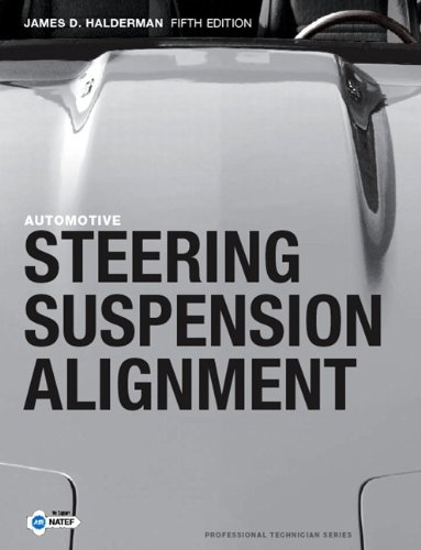 Automotive Steering, Suspension and Alignment  5th 2010 edition cover