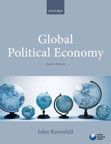 Global Political Economy  4th 2014 edition cover