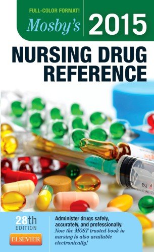 Mosby's 2015 Nursing Drug Reference  28th 2015 9780323278010 Front Cover