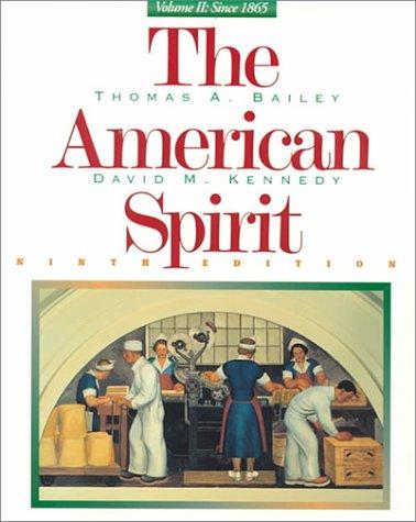 American Spirit  9th 1998 edition cover