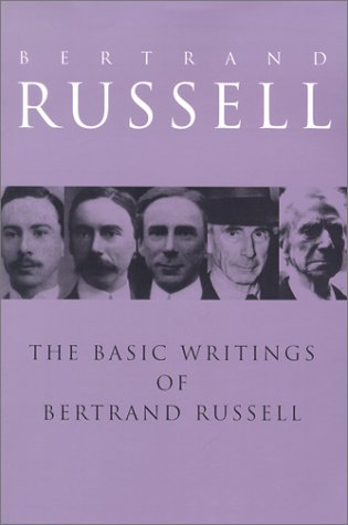 Basic Writings of Bertrand Russell   1992 edition cover
