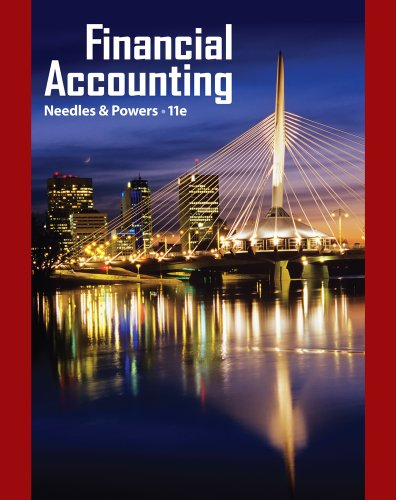 Financial Accounting  11th 2012 edition cover