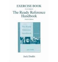 Exercise Booklet Ready Reference Handbook  4th 2006 (Handbook (Instructor's)) 9780618918010 Front Cover