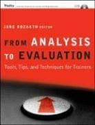 From Analysis to Evaluation Tools, Tips, and Techniques for Trainers  2008 edition cover