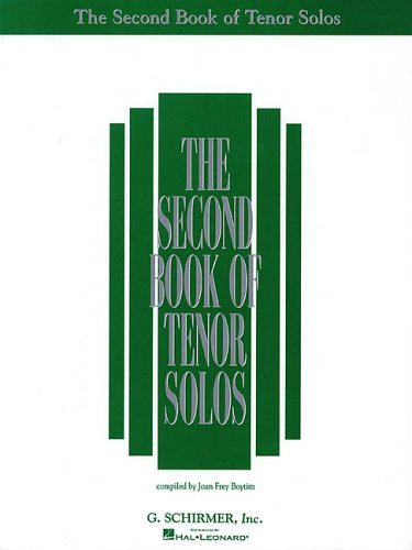 Second Book of Tenor Solos  N/A edition cover