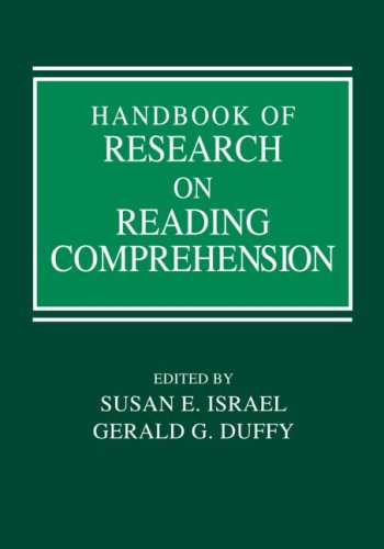 Handbook of Research on Reading Comprehension   2009 9780805862010 Front Cover
