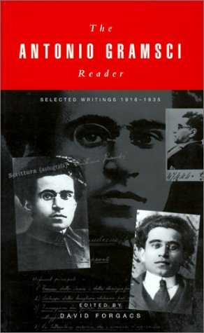 Antonio Gramsci Reader :Selected Writings, 1916-1935  2000 edition cover