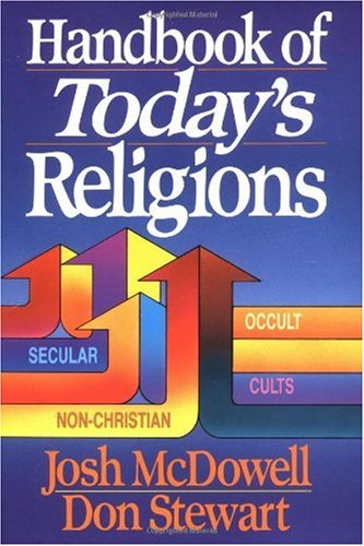 Handbook of Today's Religions   1992 edition cover