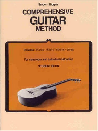 Comprehensive Guitar Method Student Book  1985 edition cover