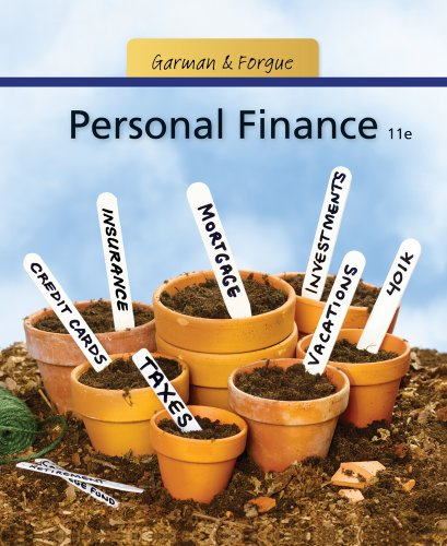 Personal Finance  11th 2012 9781111531010 Front Cover