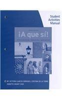 SAM for Garc�a Serrano/de la Torre/Grant Cash's �a Que S�!  4th 2013 edition cover