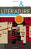 Portable Literature: Reading, Reacting, Writing, 2016 Mla Update  2016 9781337281010 Front Cover