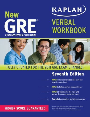 New GRE Verbal Workbook  7th (Revised) edition cover