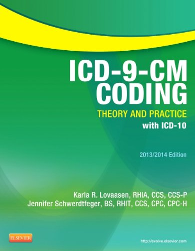 ICD-9-CM Coding: Theory and Practice with ICD-10, 2013/2014 Edition  N/A edition cover