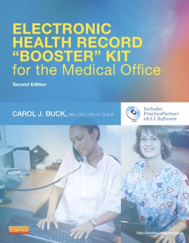 """Electronic Health Record """"Booster"""" Kit for the Medical Office  2nd 2013 edition cover"""