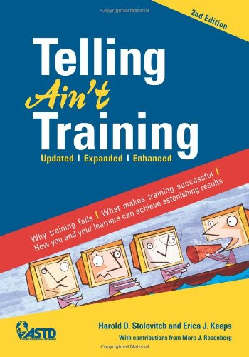 Telling Ain't Training Updated, Expanded, Enhanced 2nd 2011 edition cover