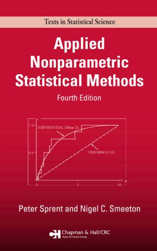 Applied Nonparametric Statistical Methods  4th 2007 (Revised) edition cover
