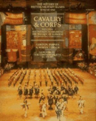 History of British Military Bands Cavalry and Corps  1994 edition cover